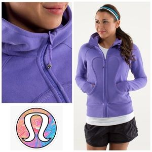 LULULEMON | Scuba Hoodie *Stretch in Purple Sz 10